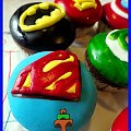 Marvel muffiny #tort #TortyKraków #TortyWalentynki