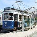 Zabytkowy tramwaj w La Coruna, Hiszpania #Tramwaj