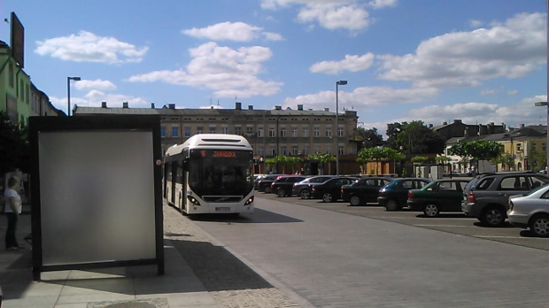 Volvo 7900 autobus hybrydowy ,na testach w MZK wTomaszowie Mazowieckim, który miałem okazje prowadzić #Volvo7900 #TomaszówMazowiecki #hybryda #autobus #mzk