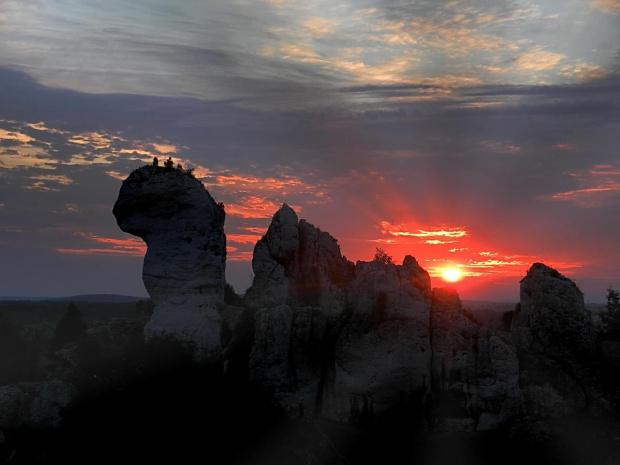 Skały Wielbłąd. Ogrodzieniec #zachód #skały