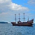 """Wycieczki """"Piratem"""" dobre przy każdej pogodzie i o każdej porze #żaglowiec #statek #atrakcja #wycieczkowiec"""