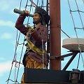 """Na pokładzie """"Pirata"""" spotkasz się oko w oko z piratem - jakże by mogło być inaczej?... #żaglowiec #statek #atrakcja #wycieczkowiec"""