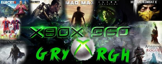 GRY XBOX 360 RGH