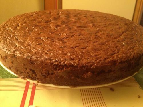 biszkopt na tort czekoladowy