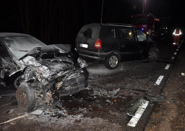 Wypadek na trasie Pisz-Ruciane