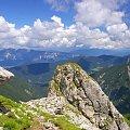 Widok z przełęczy pod Mangartem #Góry