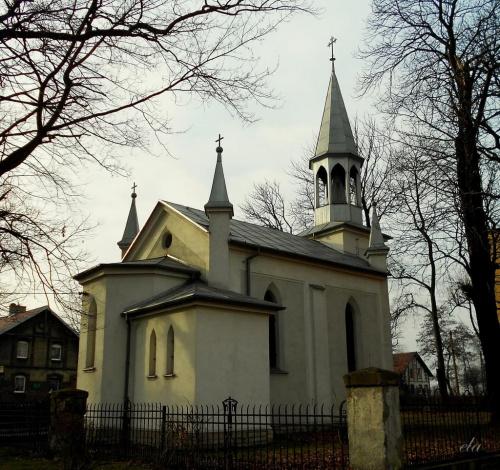 Kaplica w Bytomiu-Szombierkach.