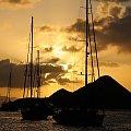 Karaiby #ocean #lazur #morze #łódź #żeglarstwo #statek #błękit
