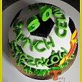 Tort Piłka #DlaPiłkarza #piłka #PiłkaNożna #tort #TortyArtystyczne #TortyKraków #TortyWalentynki #urodziny #WisłaBłyskawica