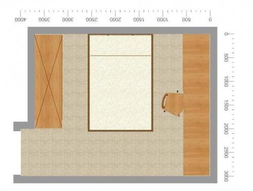 Sypialnia 11m2 Aranzacja Projektowanie Wnętrz Forum