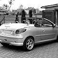 Peugeot 206 cc #motoryzacja #samochód