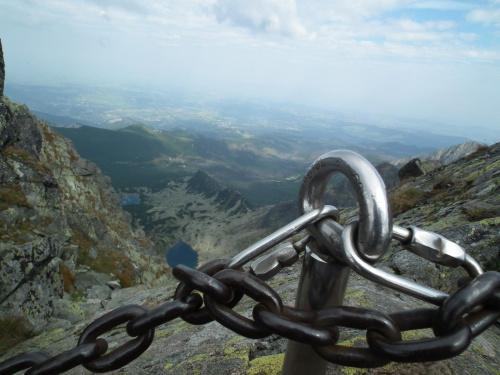Widoczek ze Świnicy #góry #Świnica #tatry