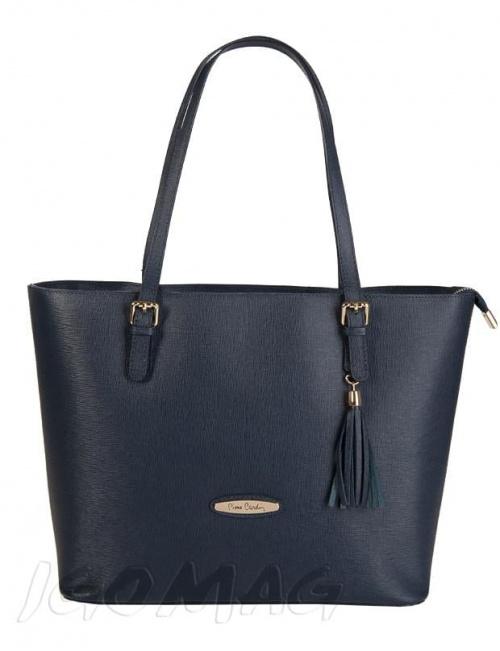 skórzana damska torebka typu Saffiano leather tote bag