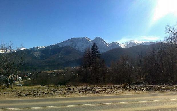Góry w Zakopanem #Zakopane #góry #widok